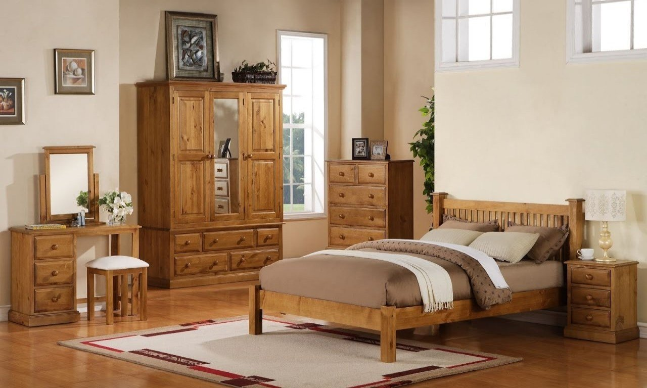 Best Bedroom Furniture Decorating Ideas Pine Bedroom Furniture With Pictures