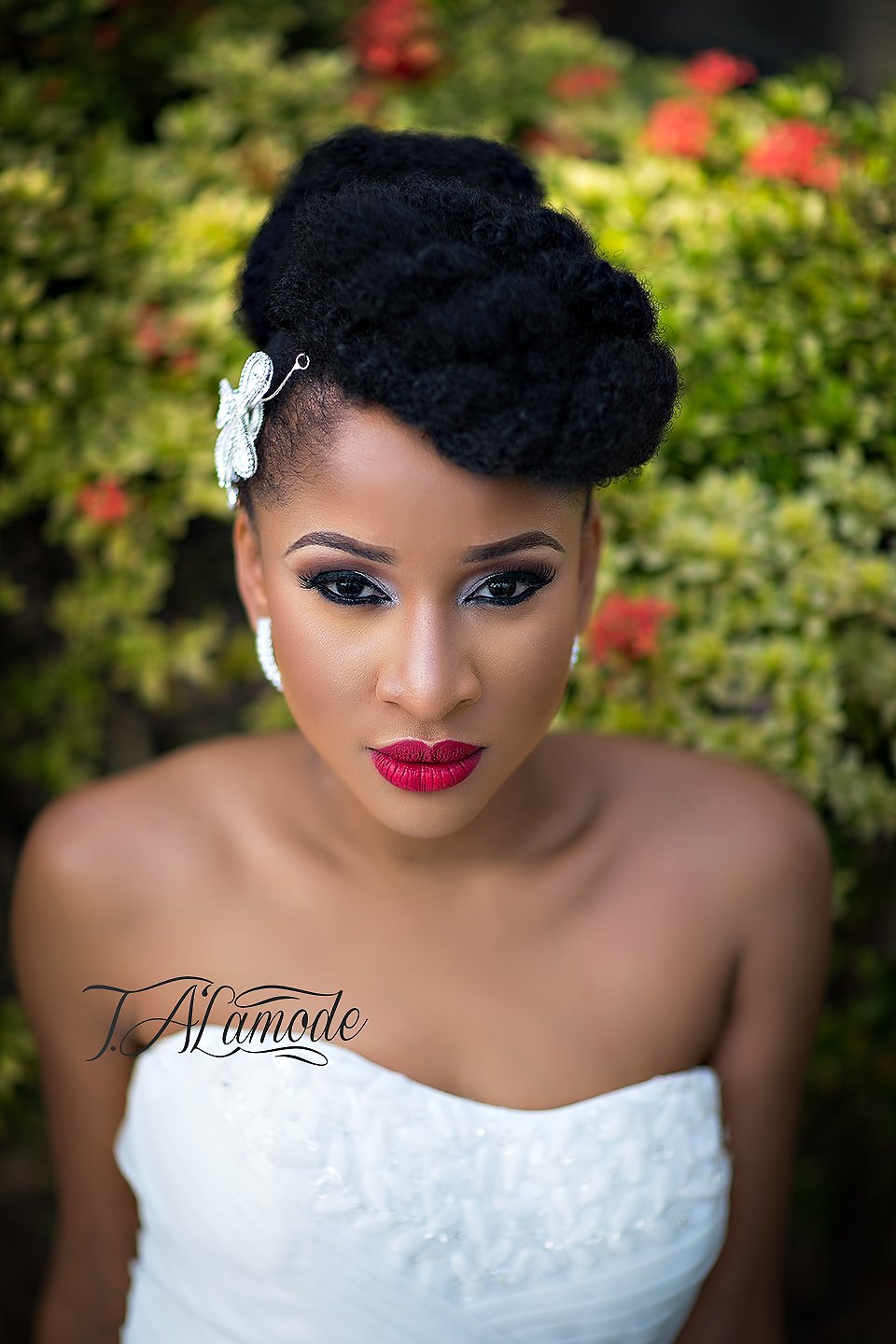Free Striking Natural Hair Looks For The 2015 Bride T Alamode Wallpaper