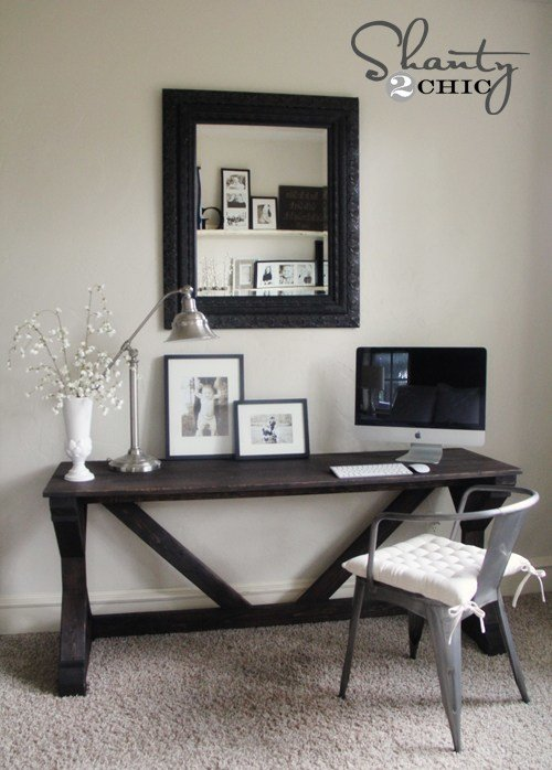 Best Desk In Bedroom Shanty 2 Chic With Pictures