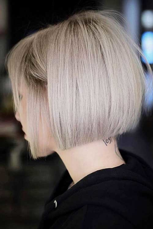 Free 20 Trendy Short Haircuts For Fine Hair Crazyforus Wallpaper