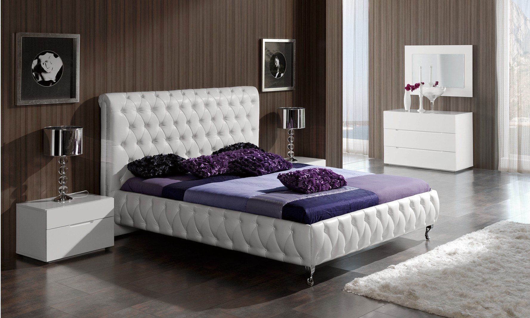 Best Adriana Modern Bedroom Set With Pictures