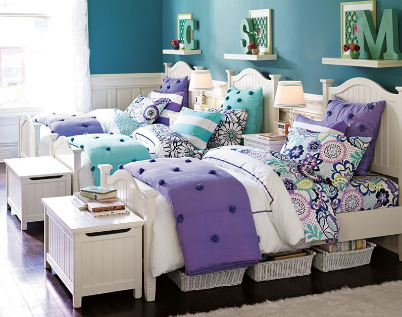 Best Cute For Twins Or Triplets Teenage Girl Bedroom Ideas With Pictures