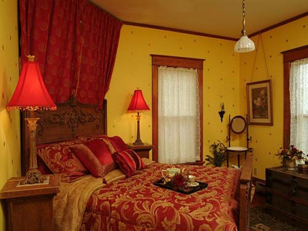 Best Red Bedroom Decor Red And Yellow Bedroom Ideas Red And With Pictures