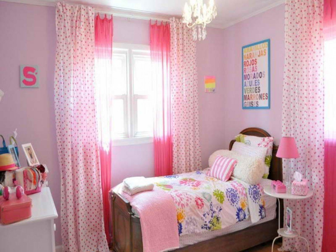 Best Girly Bedroom Decorating Ideas Cute Curtains For Bedrooms With Pictures