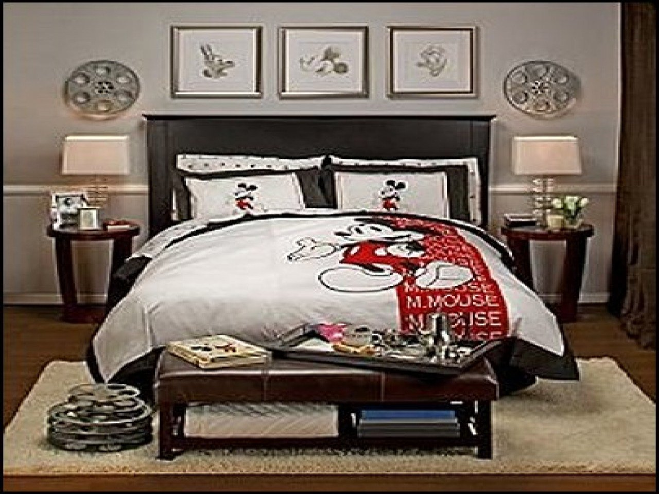 Best Themed Bedrooms For Adults Disney Mickey Mouse Bedroom With Pictures