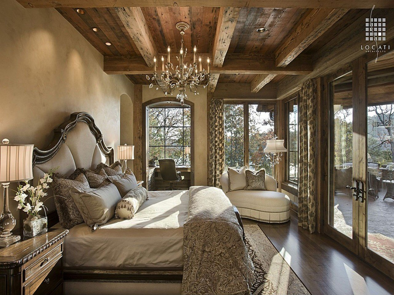 Best Rustic Master Bedroom Rustic Romantic Bedrooms Beautiful With Pictures