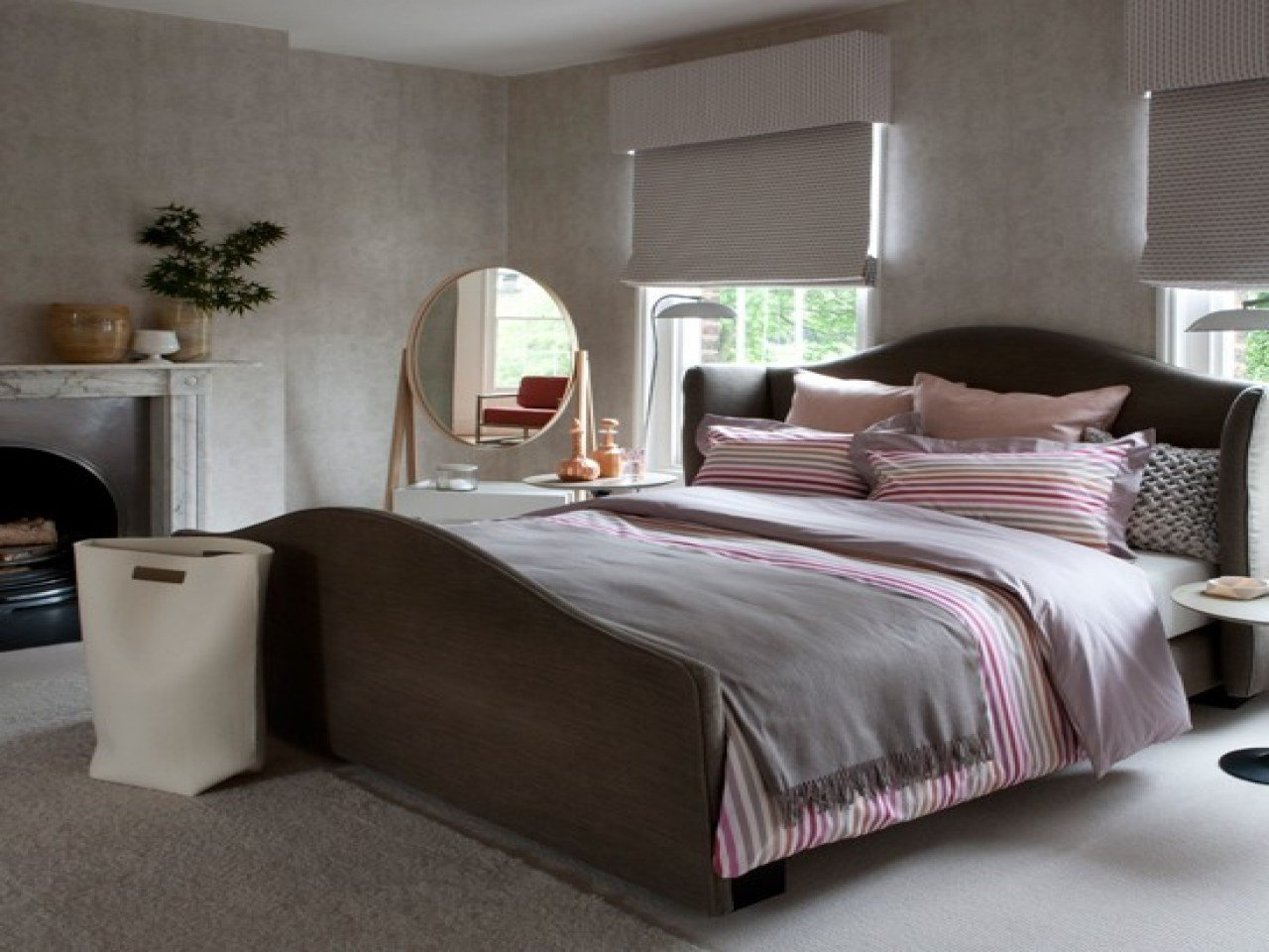 Best Gray And Pink Bedroom Decor Pink And Grey Bedroom With Pictures