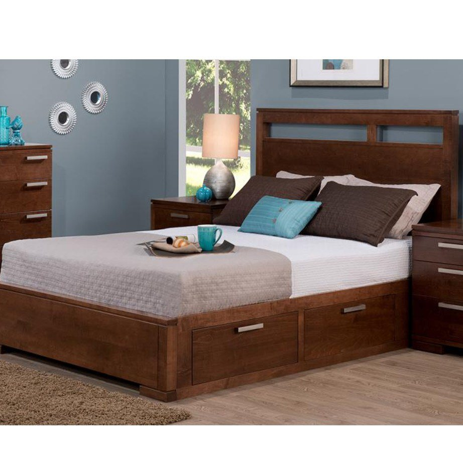 Best Cordova Bed Home Envy Furnishings Solid Wood Furniture With Pictures