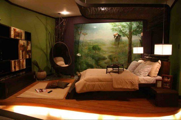 Best New Trend Nature Wall Mural Decoration With Pictures
