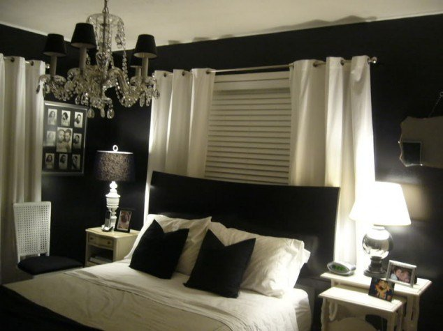 Best Elegant Black Wall Bedroom Designs With Pictures