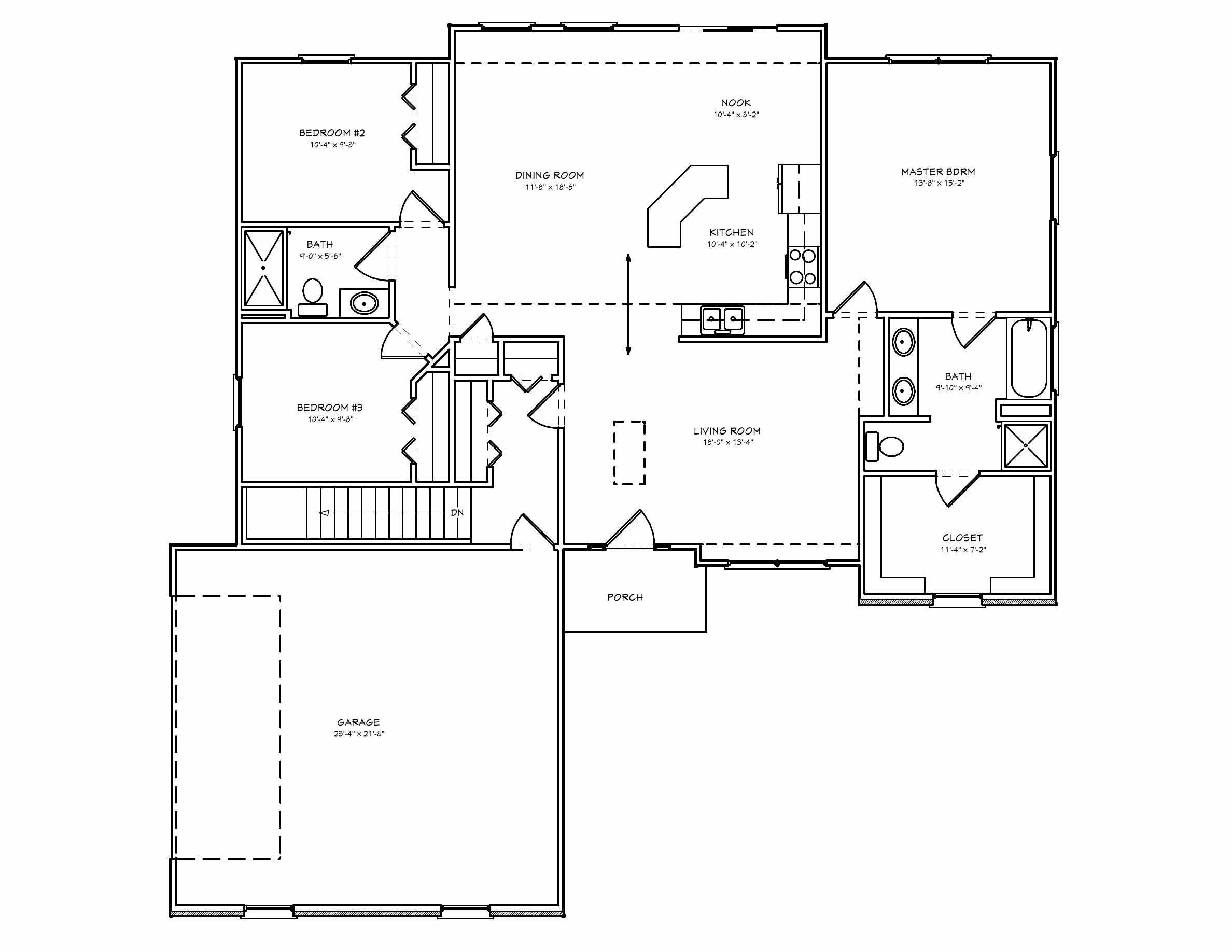 Best Brick Ranch House Plan D67 1586 The House Plan Site With Pictures