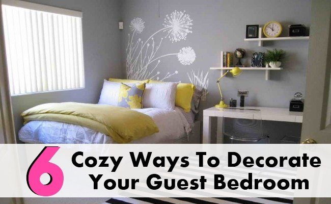 Best 6 Cozy Ways To Decorate Your Guest Bedroom Diy Home Things With Pictures