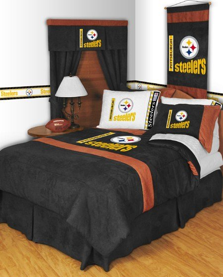 Best Nfl Pittsburgh Steelers Mvp Bedding Set With Pictures