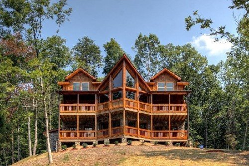 Best Applewood Manor 3 Bedroom Cabin Rental Pigeon Forge Best With Pictures