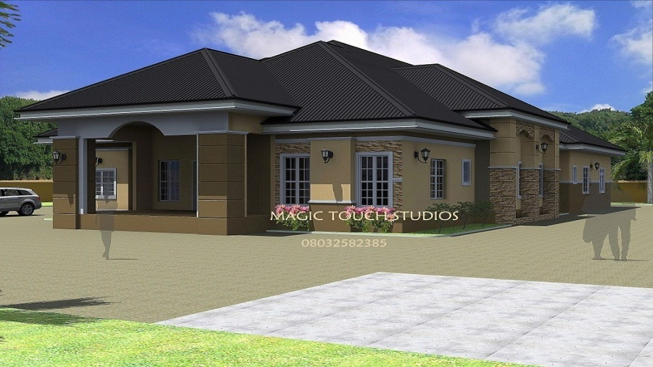 Best 4 Bedroom Ranch House 4 Bedroom Bungalow House Bungalows With Pictures