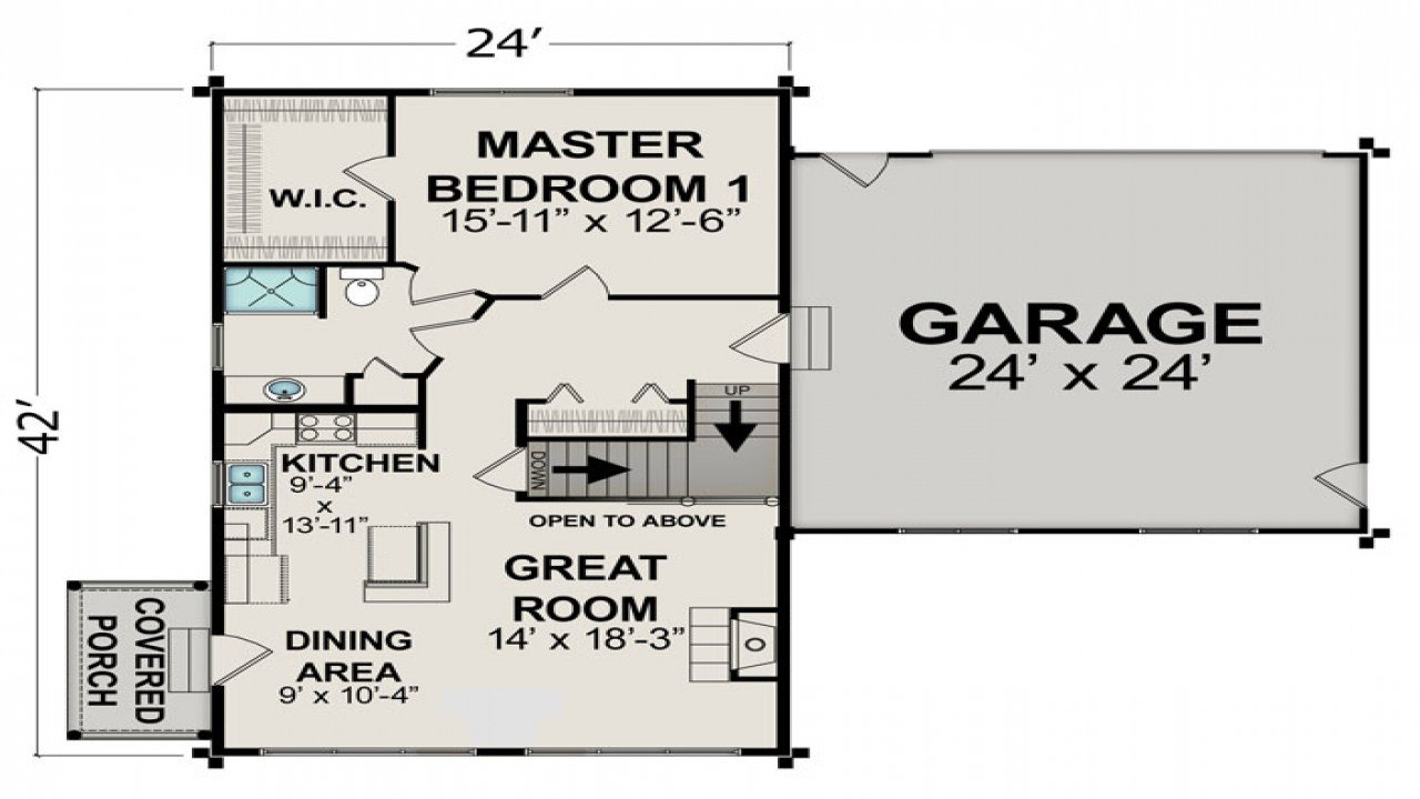 Best Small House Floor Plans Under 600 Sq Ft Small Two Bedroom With Pictures