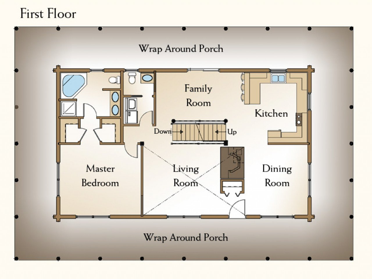 Best Residential House Plans 4 Bedrooms 4 Bedroom Log Home With Pictures