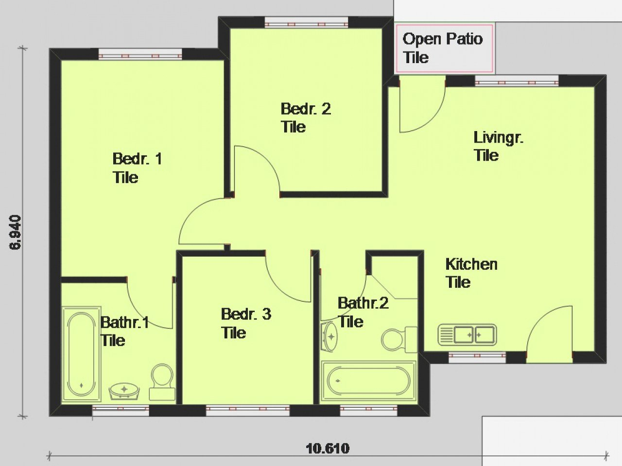 Best Free Printable House Blueprints Free House Plans South With Pictures