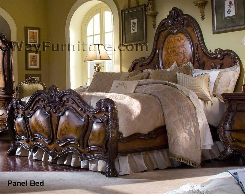 Best French Rococo Panel Bedroom Set With Pictures