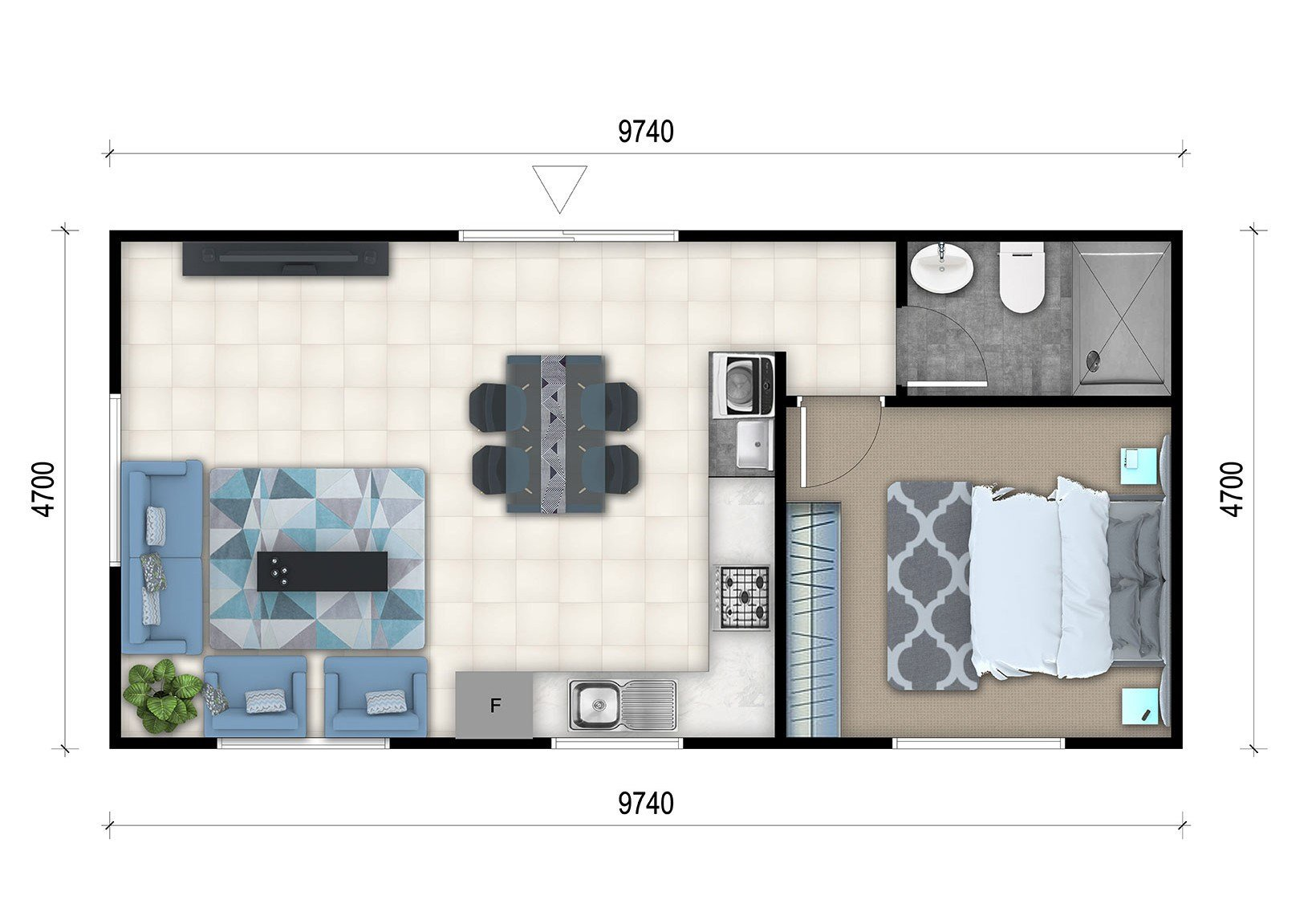 Best 1 Bedroom Granny Flat Designs 1 Bedroom Granny Flat With Pictures