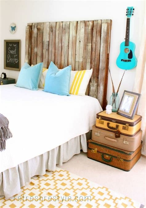 Best Bedroom Makeover Diy Repurposed And Painted Furniture With Pictures