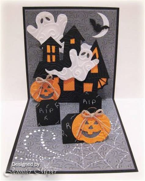 Best Easy Handmade Halloween Invitations And Cards Family With Pictures