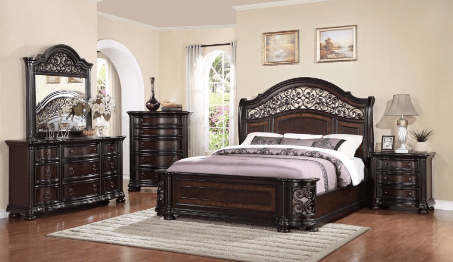 Best Alexander Bedroom Set Furtado Furniture With Pictures