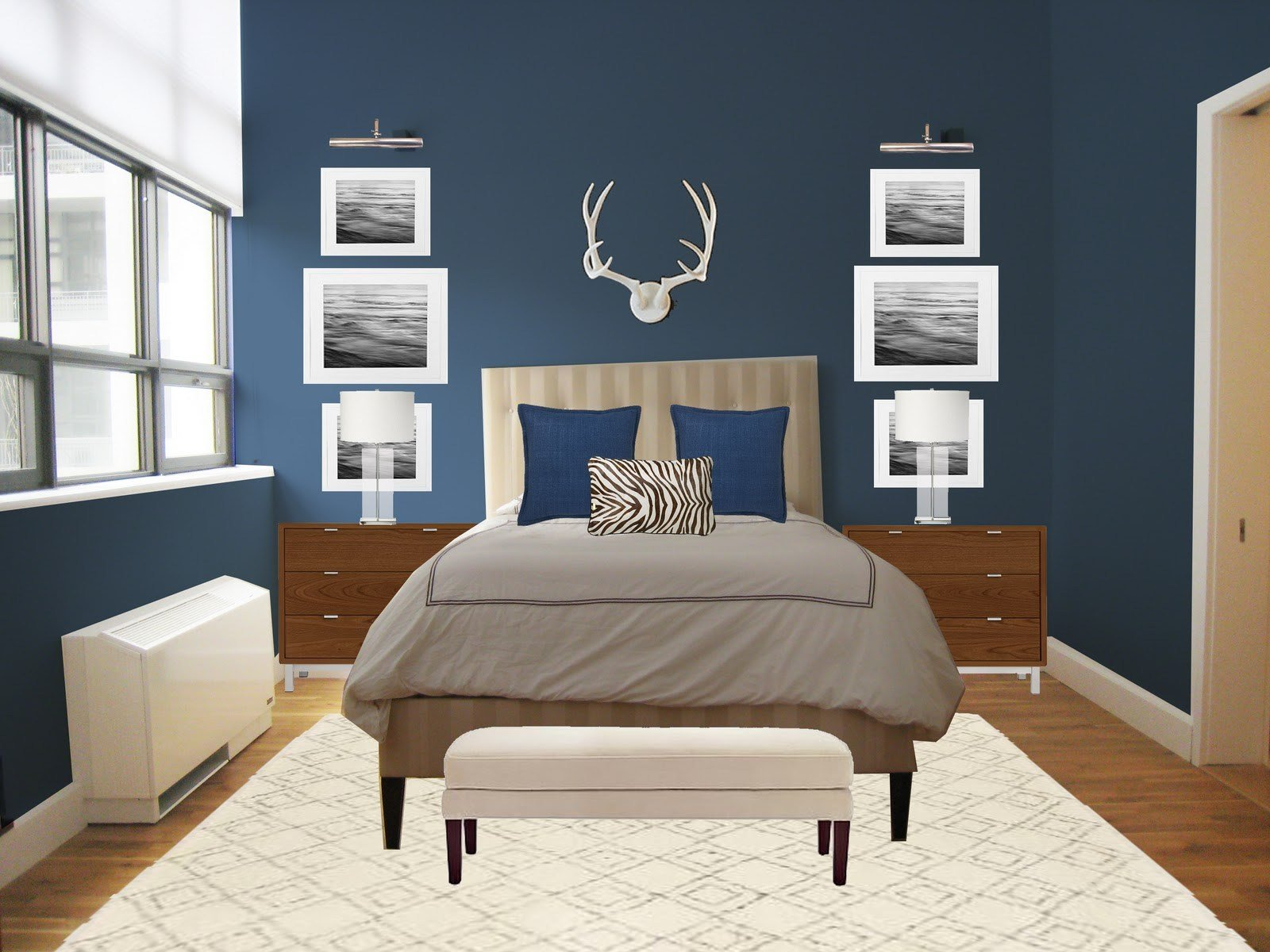 Best Trendy Home Office Furniture Neutral Bedroom Paint Colors With Pictures