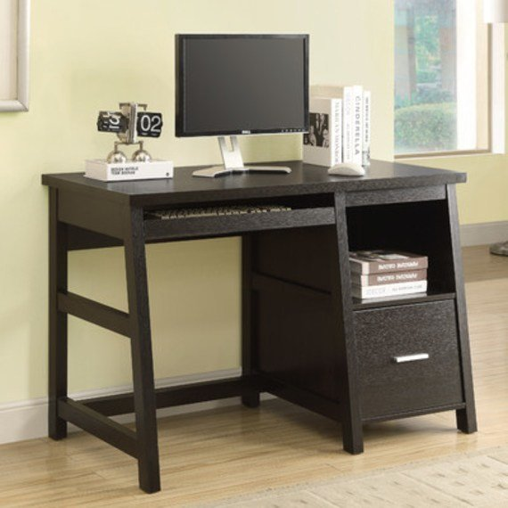 Best Computer Table With Storage Space Efficient Desk Space With Pictures