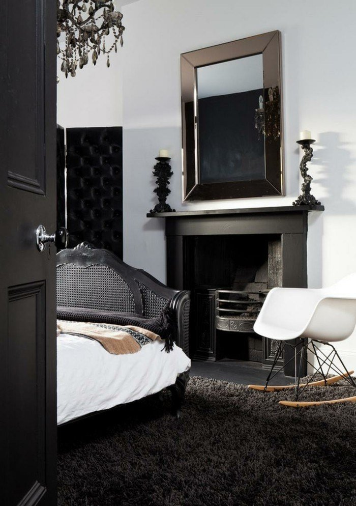 Best In Black – 31 Examples That Black Bedrooms Are Stylish And Comfortable Bedroom – Fresh Design Pedia With Pictures