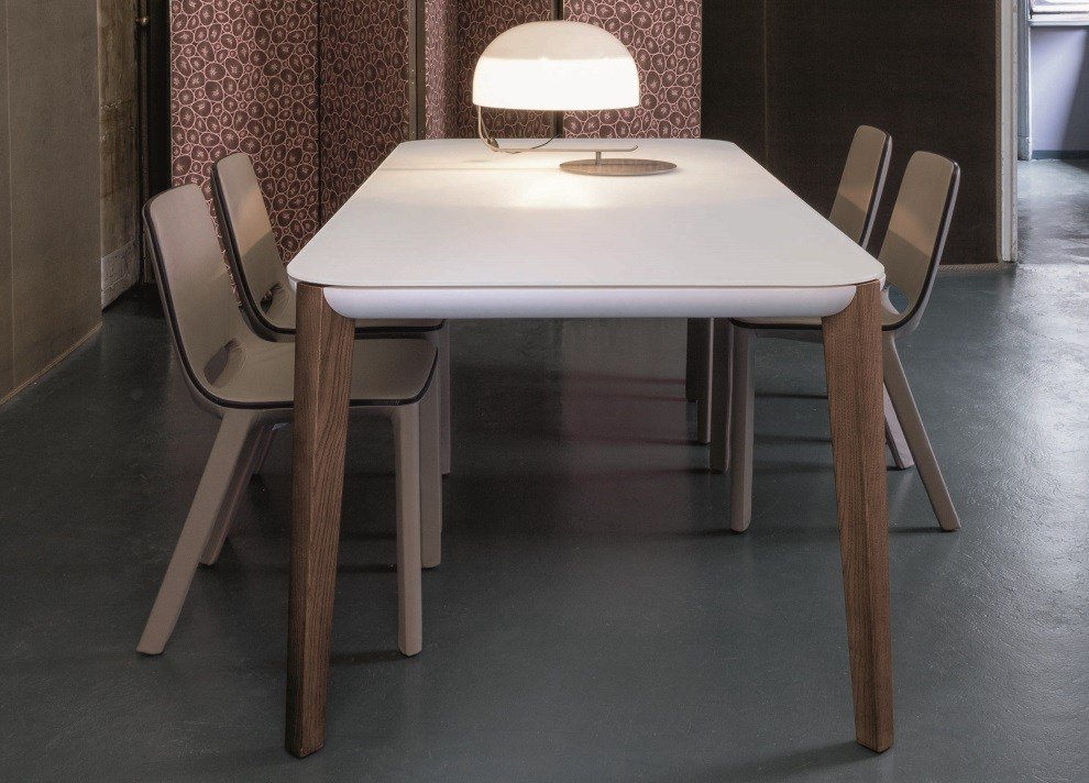 Best Bonaldo Match Extending Dining Table Modern Extending With Pictures