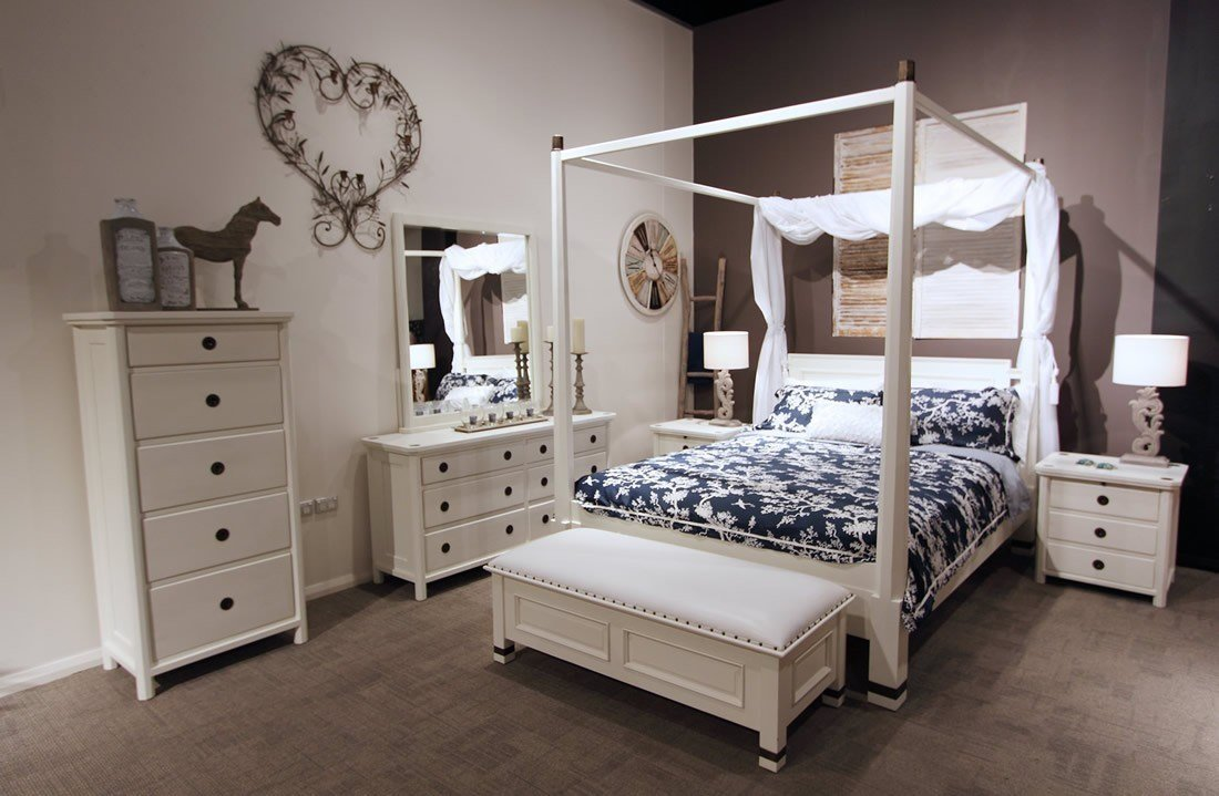Best Hudson 4 Piece White Bedroom Suite With Pictures