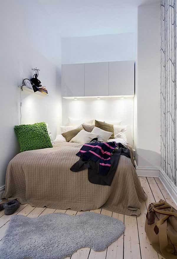 Best 35 Inspiring Ideas To Make Your Small Bedroom Look Larger With Pictures