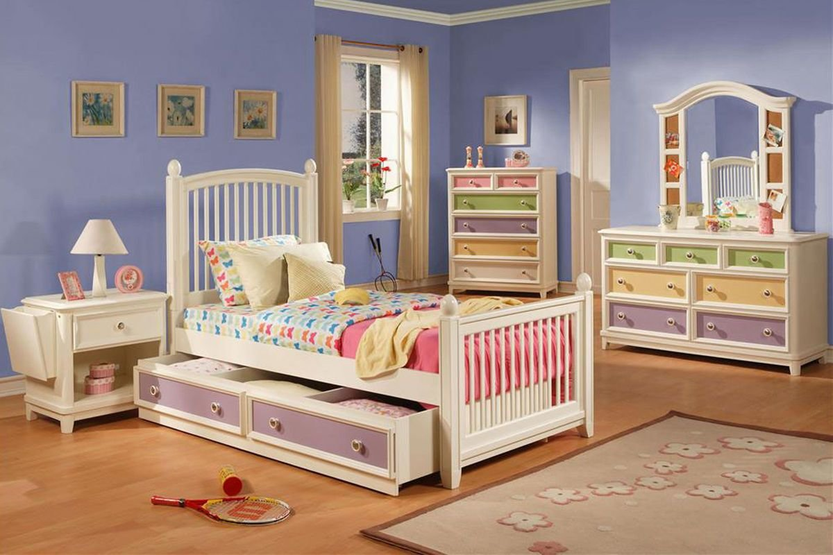 Best Jenny Twin Bedroom Set With Trundle Storage At Gardner White With Pictures