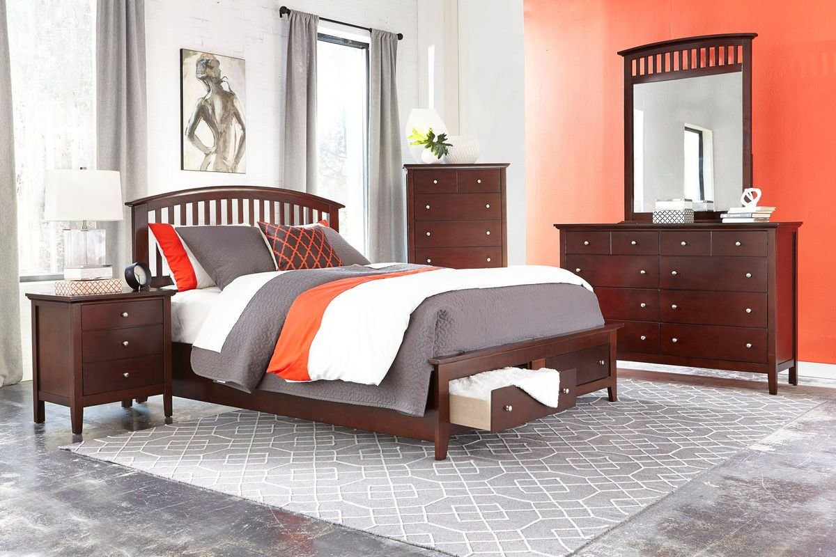 Best Mason 5 Piece King Bedroom Set At Gardner White With Pictures