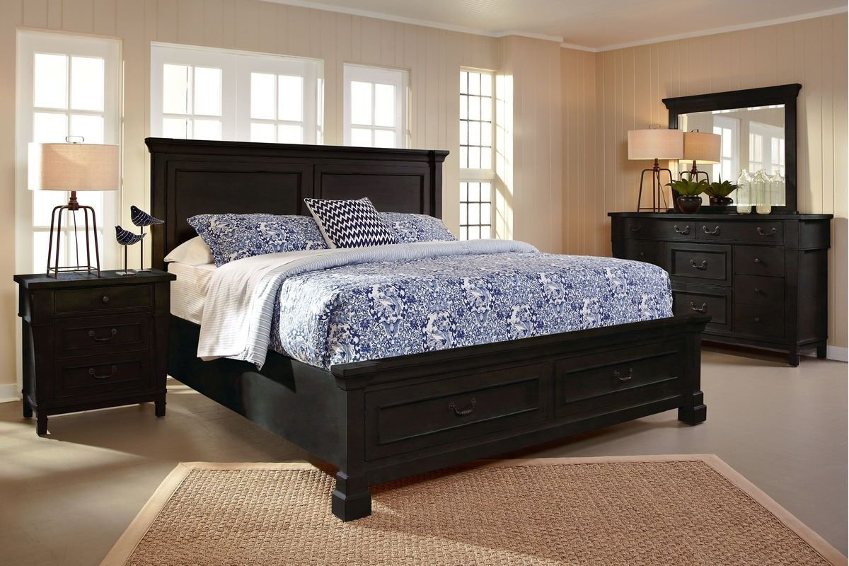 Best Baldwin 5 Piece Queen Bedroom Set With 32 Led Tv At With Pictures