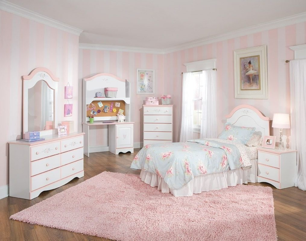 Best Kids Bedroom Furniture Sets Light Blue Striped Covered With Pictures
