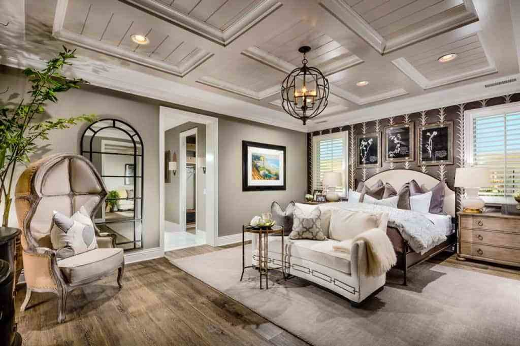 Best Master Bedroom With Coffered Ceiling Installing A With Pictures