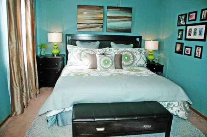 Best Beautiful Ideas For A Teal Bedroom Wearefound Home Design With Pictures