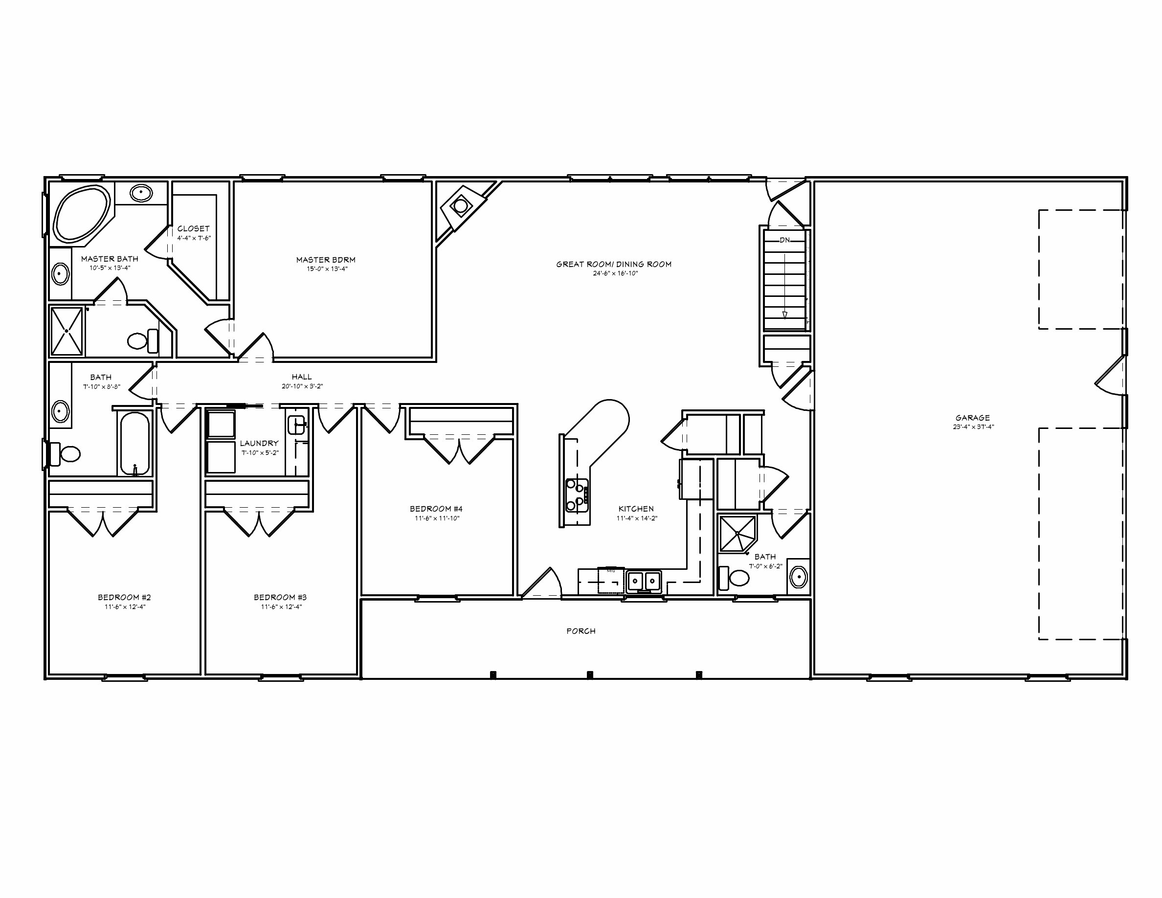 Best Bedroom Floor Plans Ranch Simple Open House With Walkout With Pictures