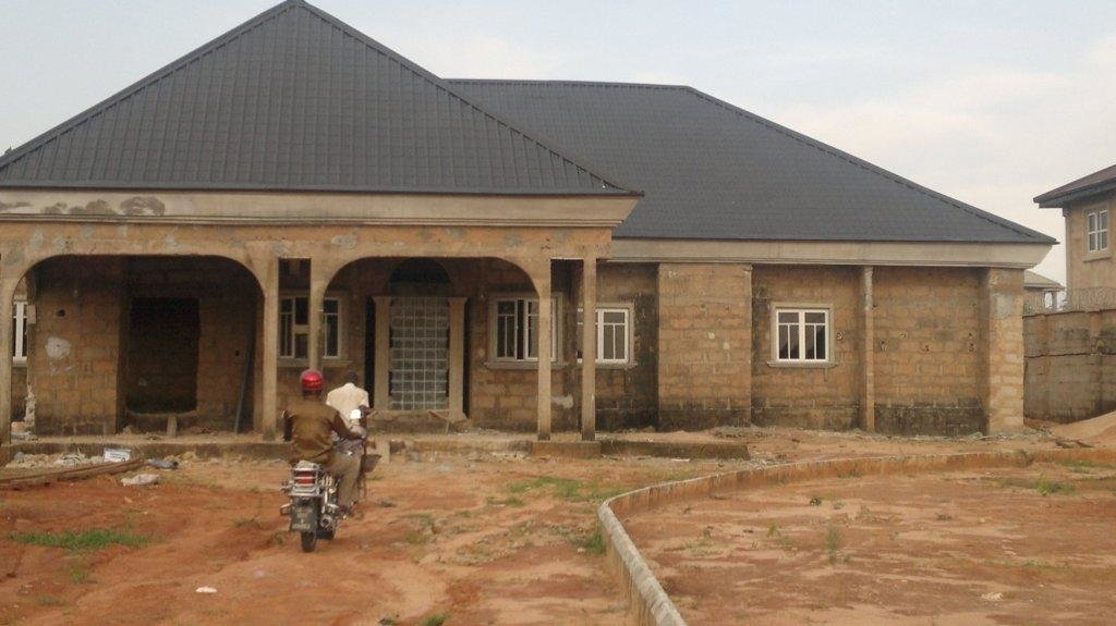 Best Bedroom Bungalow House Plans Nigeria Cost Building Home With Pictures