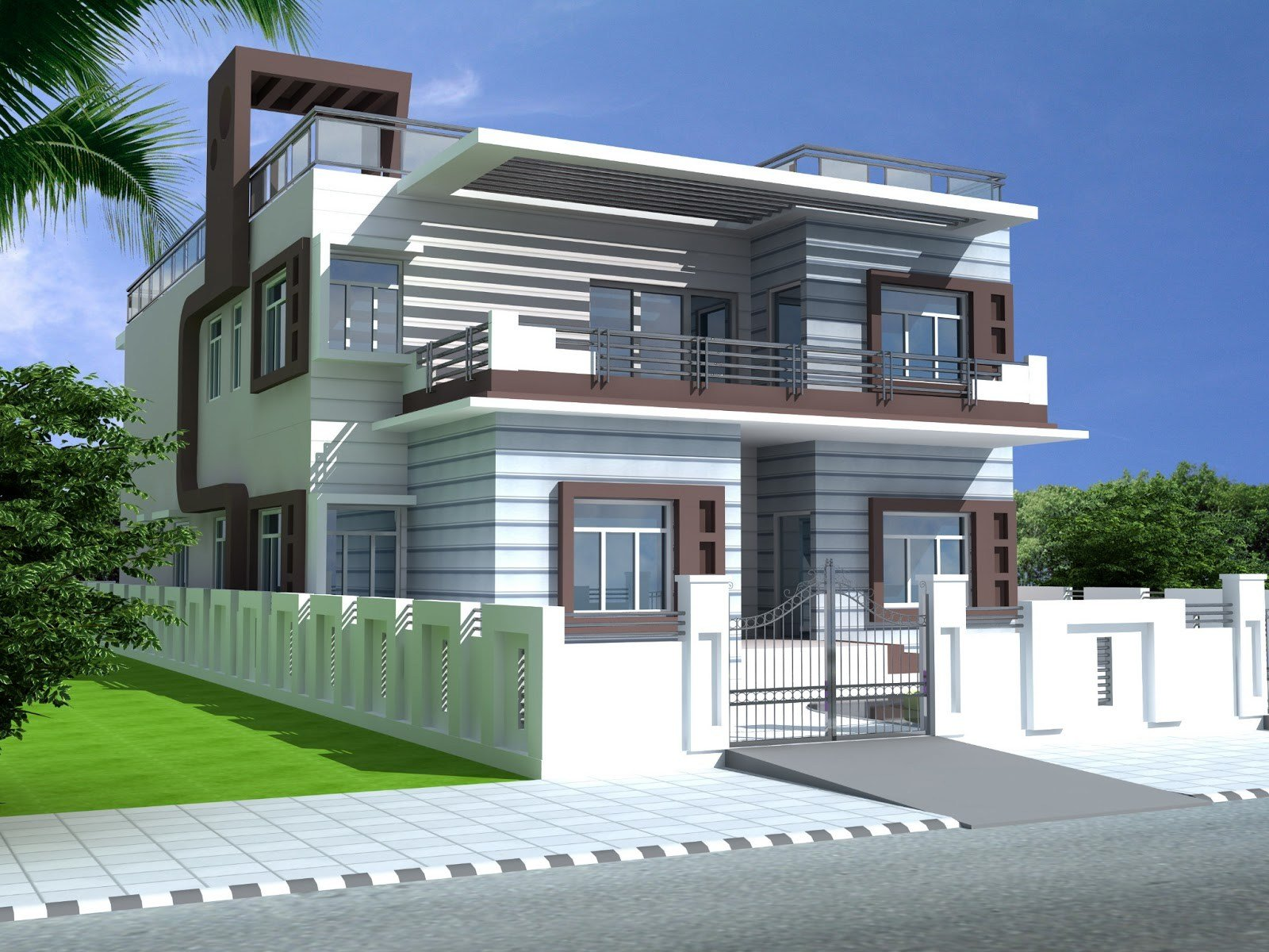 Best Bedroom Duplex House Plans India Home Structure Design In With Pictures