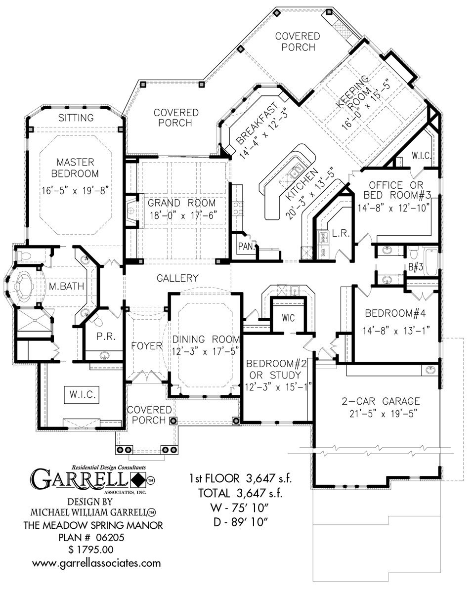 Best Bedroom House Plans With Unfinished Basement Awesome Ranch With Pictures