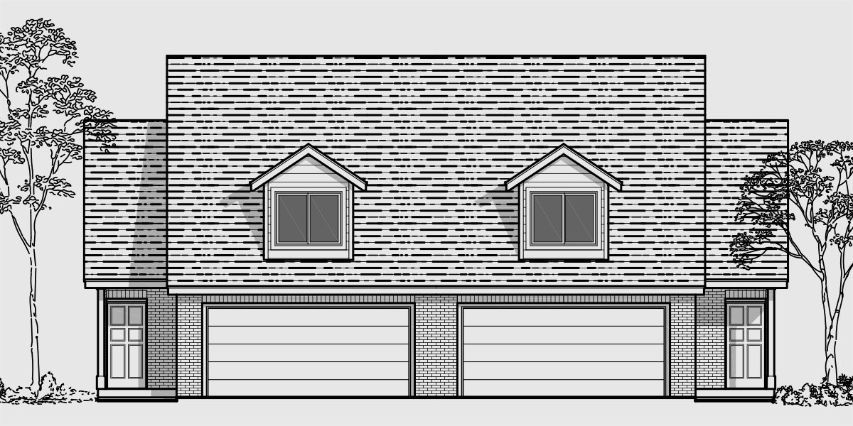 Best Duplex House Plans Designs One Story Ranch 2 Story With Pictures