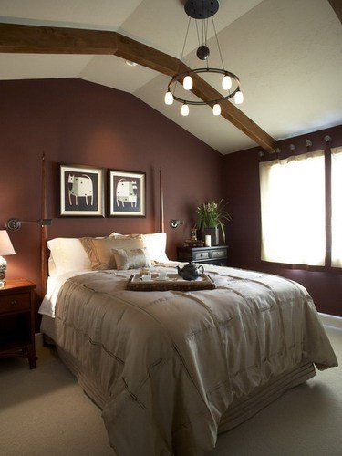 Best How To Decorate Your Bedroom With Brown Accent Wall Home With Pictures