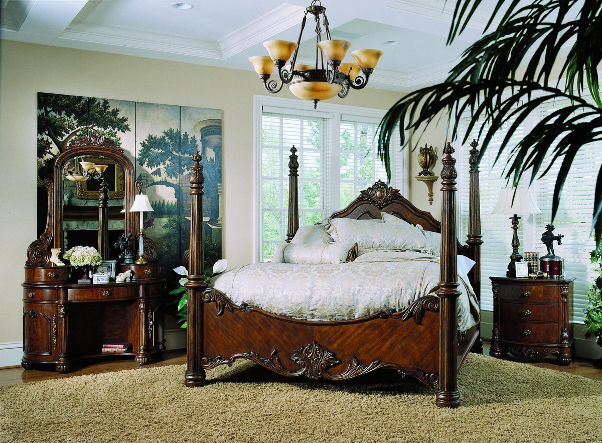 Best Pulaski Edwardian Poster Bedroom Collection B242150 With Pictures
