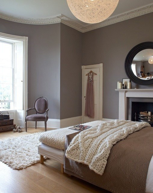 Best Cozy Contemporary Bedroom With Warm Colors Love The Round With Pictures