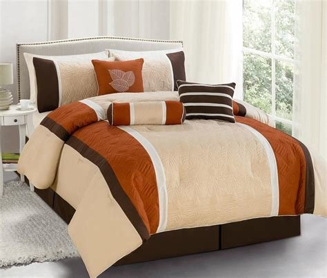 Best Contemporary Bedroom Ideas Brown White Orange Bedding Sets With Pictures