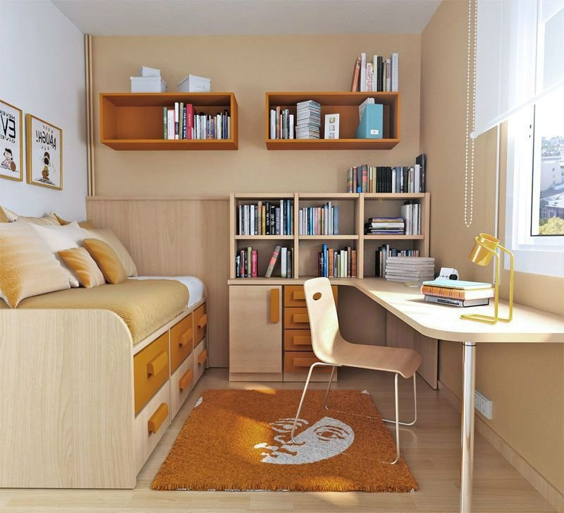 Best Utilizing Small Bedrooms For Teenagers – Interior With Pictures