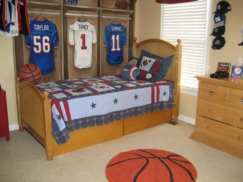Best Sports Themed Children's Bedroom Ideas – Interior With Pictures